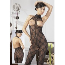 CATSUIT CUPLESS BLACK