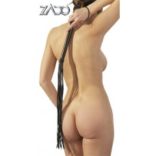 LEATHER WHIP WOOD HANDLE